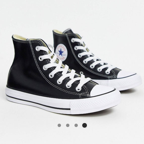 UNISEX Leather High Top Converse